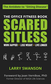 Scared Sitless: The Office Fitness Book (cover)